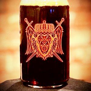 Lion Head Beer Glass